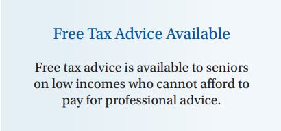 Free tax advice for seniors available