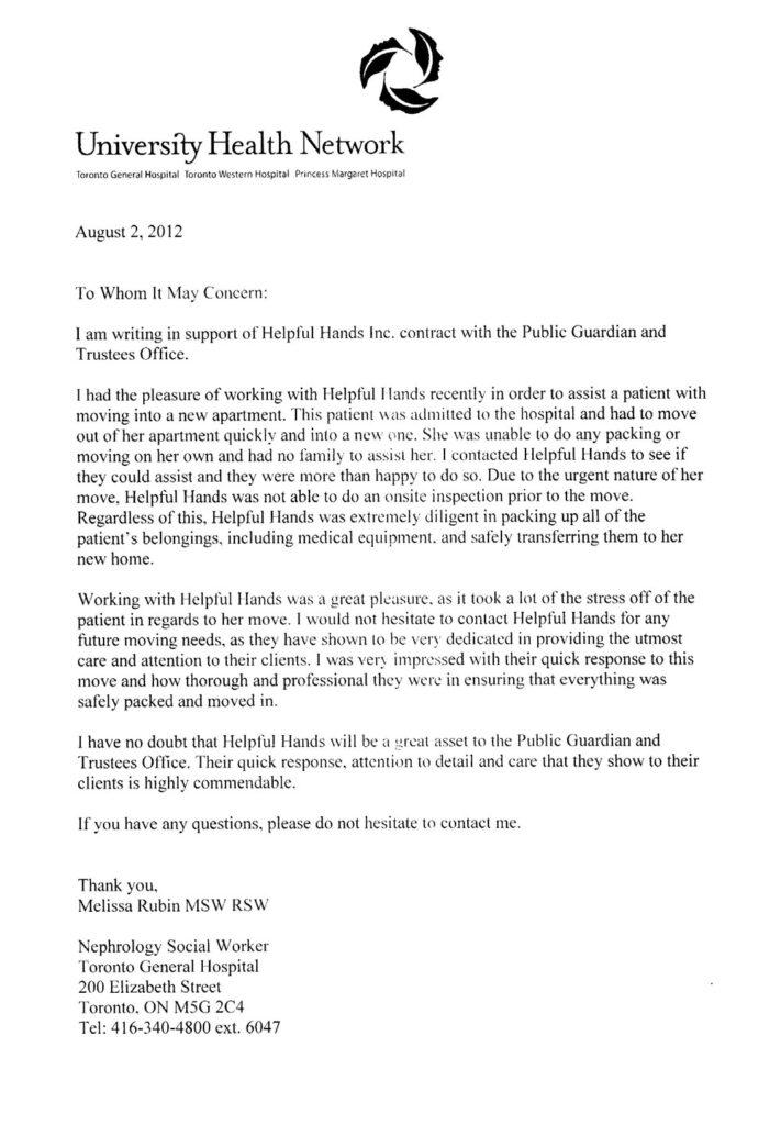 Testimonial by University Health Network
